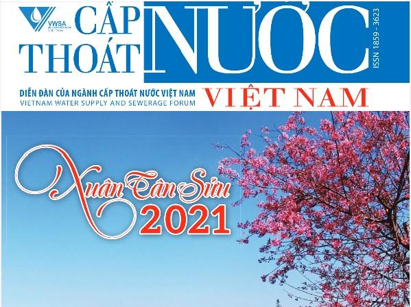 2267/Tạp chí Cấp thoát nước Việt Nam Số Chào Xuân 2021