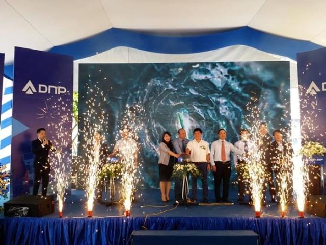 Lễ khánh thành nhà máy nước sạch 80.000 m3/ngày đêm tại Bắc Giang