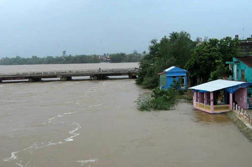 1771/Quy định mực nước tương ứng với các cấp báo động lũ trên 244 sông