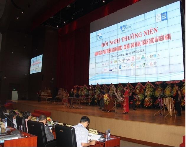 Đề xuất, kiến nghị tháo gỡ khó khăn nhằm thúc đẩy ngành nước Việt Nam