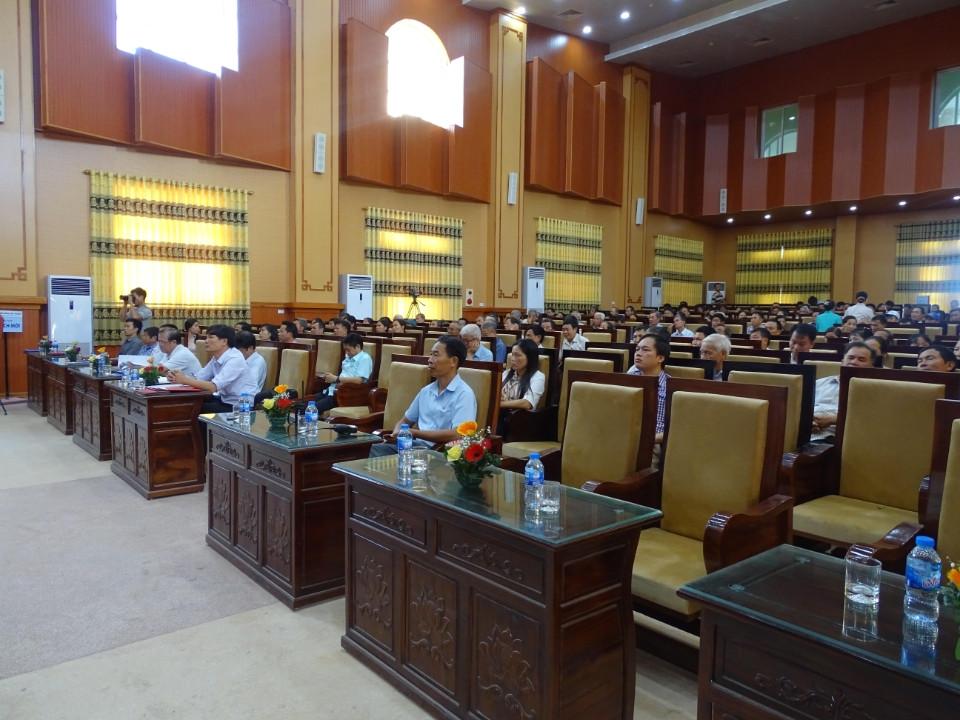 1369/Hưng Yên: Huyện Kim Động tổ chức Hội nghị về sử dụng nước sạch