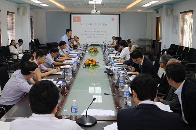 1370/Khởi động dự án nâng cấp Nhà máy nước An Dương