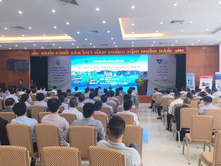Hội thảo chuyên đề Công nghệ, giải pháp trong ngành nước và các thiết bị mới ứng dụng trong lĩnh vực cấp nước