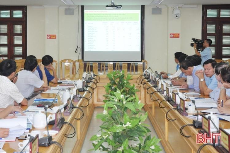1211/Sớm hoàn thiện quy hoạch tài nguyên nước, đa dạng sinh học ở Hà Tĩnh