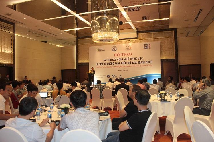 Hội thảo Vai trò của Công nghệ trong xu hướng phát triển mới của ngành nước
