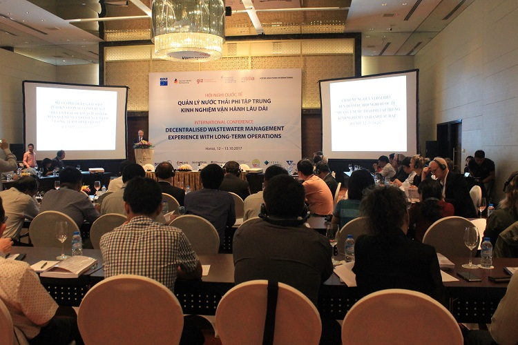974/Hội thảo Quản lý nước thải phi tập trung: Kinh nghiệm vận hành lâu dài