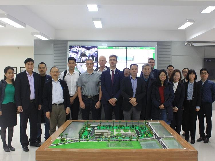 Đoàn chuyên gia CHLB Đức thăm Nhà máy XLNT Hồ Tây và Nhà máy Nước mặt Sông Đuống