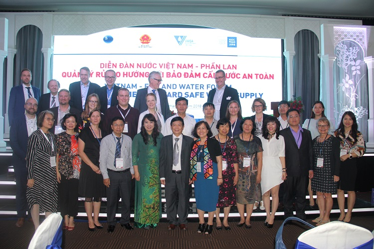 1422/REPORT ON VIETNAM-FINLAND WATER FORUM 2018