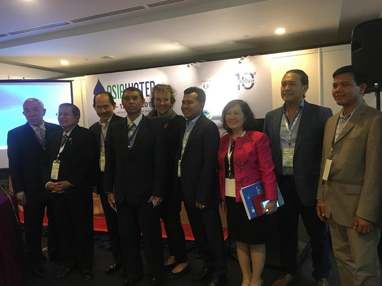 VWSA tham dự Triển lãm ngành nước Châu Á 2018