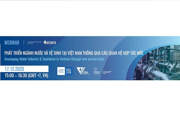 """2229/Tổng kết dự án """"Phát triển ngành Nước và Vệ sinh tại Việt Nam thông qua các quan hệ hợp tác mới"""" mở ra cơ hội cho các doanh nghiệp ngành nước Việt Nam qua các dự án hợp tác quốc tế trong tương lai"""