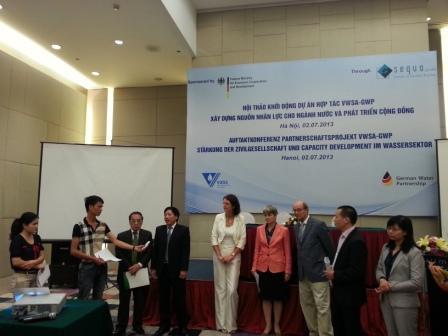 68/Hội thảo: Phát triển nguồn nhân lực cho ngành nước Việt Nam giữa Việt Nam và Đức