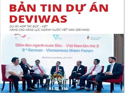 1054/Bản tin dự án DEVIWAS Quý IV/2017