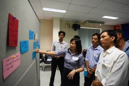 791/The trainers of the ToTs on board for the first training courses