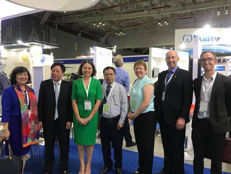 Hợp tác Úc - Việt nâng cao năng lực các công ty cấp nước