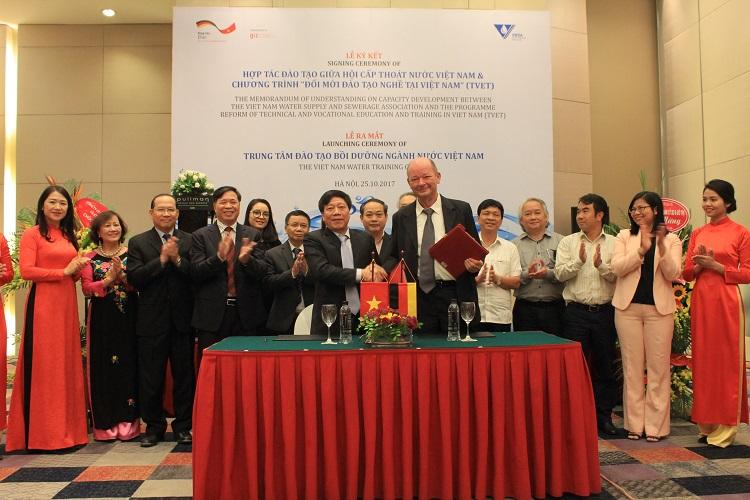 VWSA và TVET Ký kết hợp tác chương trình đào tạo Phát triển nguồn nhân lực