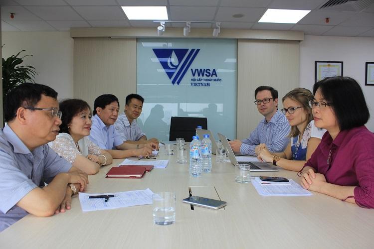 1022/Một số hình ảnh hợp tác giữa VWSA - FWF