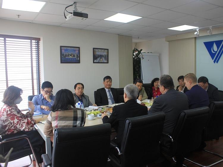 Hội Cấp thoát nước Việt Nam tiếp và làm việc với Đại sứ quán Phần Lan