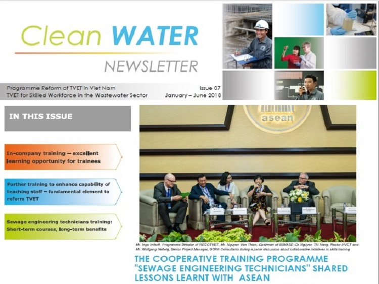 TVET in the Wastewater- Newsletter-Issue 07- 2018