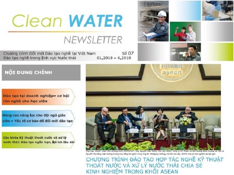 Bản tin số 7-2018 của Dự án Đổi mới đào tạo nghề tại Việt Nam - TVET