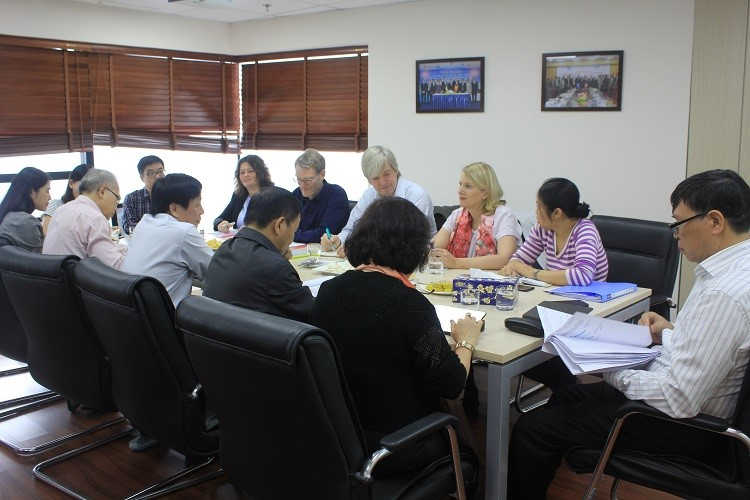 1460/Successful participation in VietWater and 2nd phase-of-DEVIWAS evaluation mission of German Delegation to Vietnam