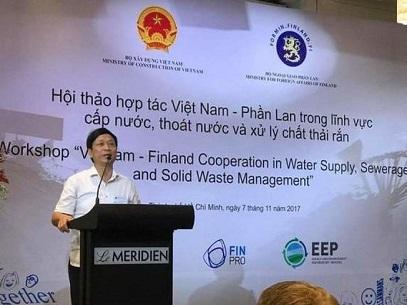 1023/Hội thảo hợp tác Việt Nam - Phần Lan: Cấp thoát nước và Xử lý chất thải rắn