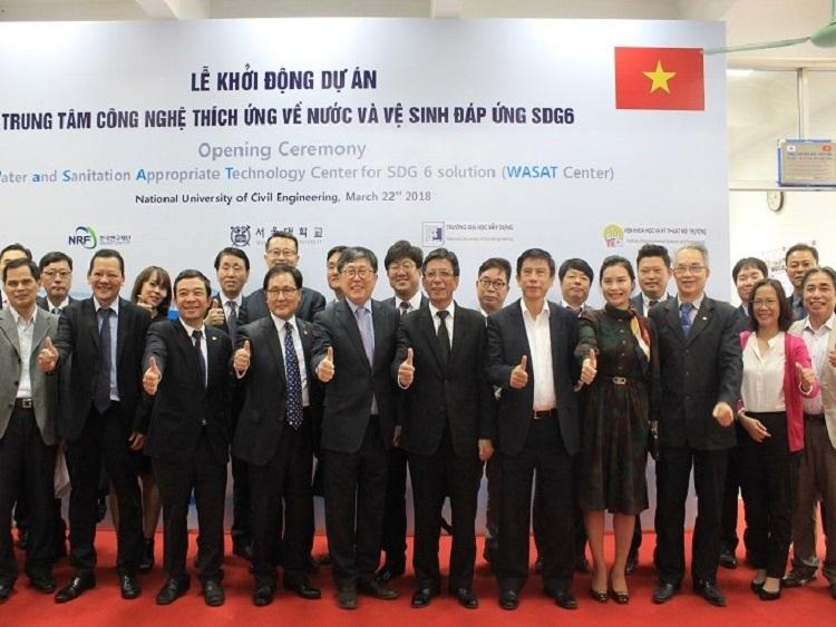 Việt Nam và Hàn Quốc hợp tác thành lập Trung tâm công nghệ về Nước và VSMT