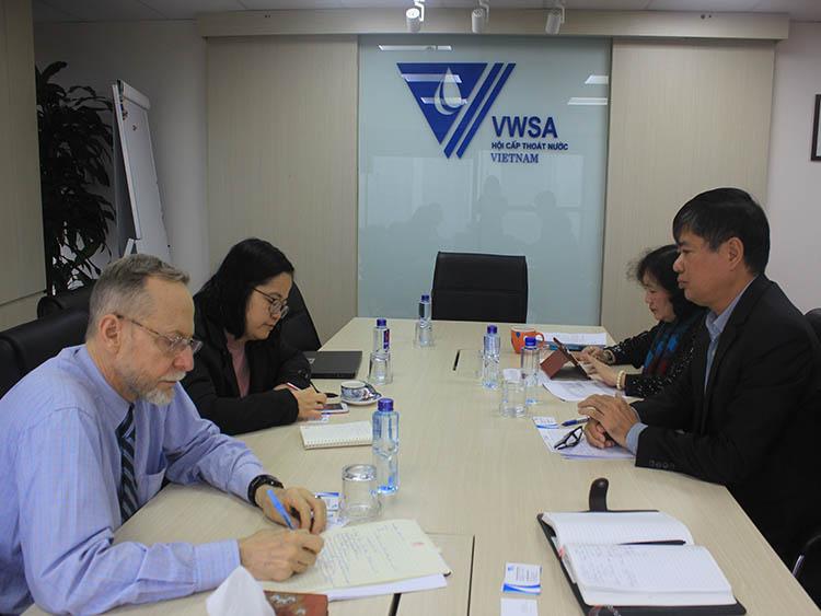2283/WB tham vấn Hội Cấp thoát nước Việt Nam về xử lý nước thải