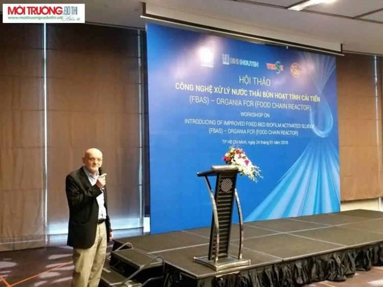 1067/Giới thiệu công nghệ xử lý nước thải bùn hoạt tính cải tiến - Organica FCR