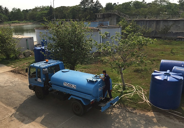 265/PERNAM-HOWACO hỗ trợ TP Bến Tre xử lý nước mặn với hệ thống RO di động