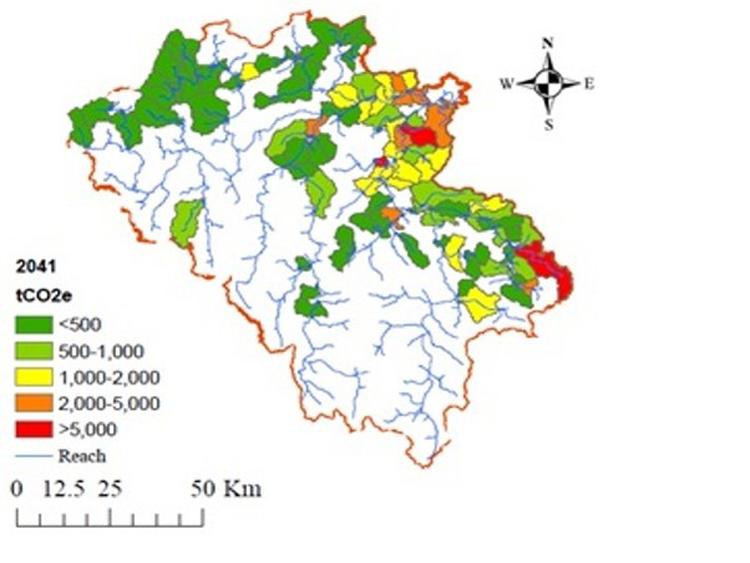 936/Đánh giá tiềm năng giảm phát thải khí nhà kính trong xử lý nước thải