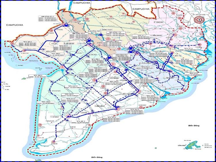 1186/Cấp nước sạch Vùng ĐBSCL dưới tác động của Biến đổi khí hậu - Những thách thức và giải pháp