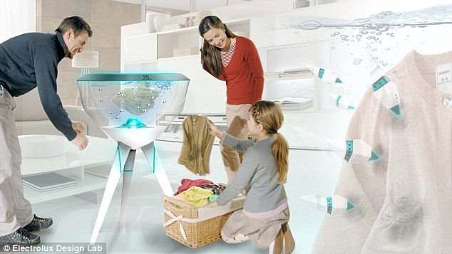 260/Công nghệ giặt sạch quần áo bằng... một bầy cá