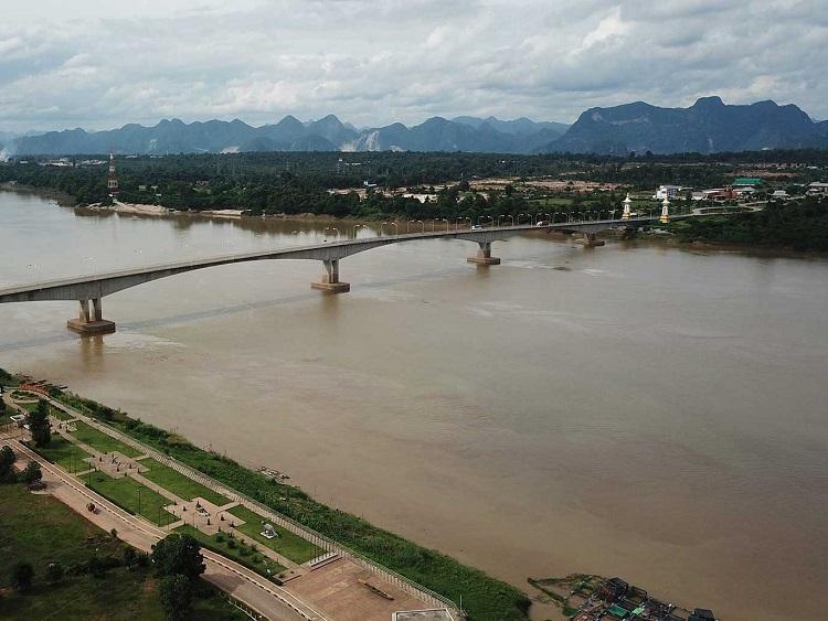 1646/Thái Lan: Mực nước sông Mekong xuống thấp nhất trong 10 năm qua