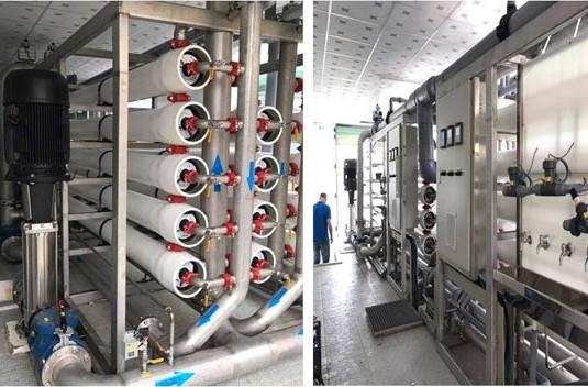 923/Xử lý nước nhiễm mặn bằng công nghệ RO cải tiến