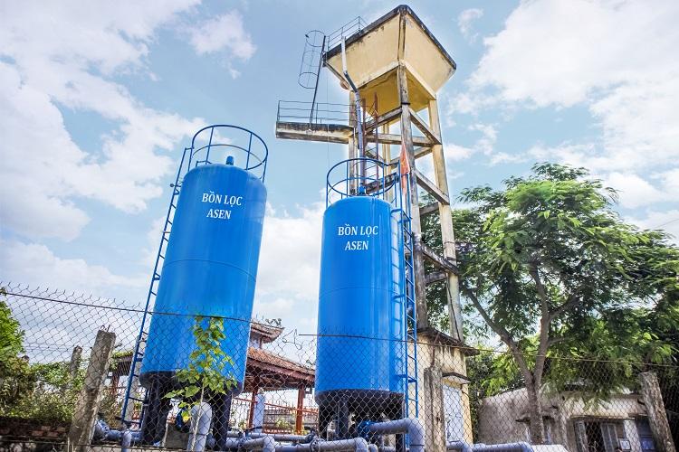 Xử lý Asen trong nước ngầm bằng cát phủ Oxit Sắt (IOCS) không dùng hóa chất
