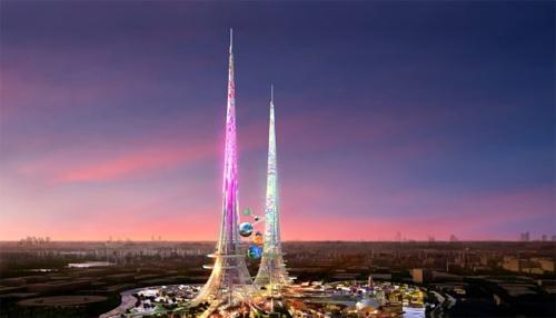 240/Tháp cao nhất thế giới giúp làm sạch không khí