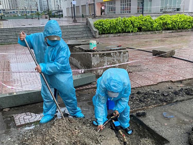 2343/SAWACO nỗ lực cung cấp nước sạch mùa dịch