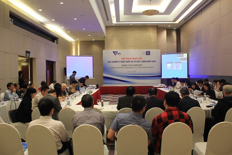1168/CONSULTATIVE WORKSHOP ON NATIONAL TECHNICAL REGULATION ON CLEAN WATER QUALITY