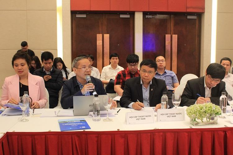 Hội thảo tham vấn Quy chuẩn kỹ thuật Quốc gia về chất lượng nước sạch