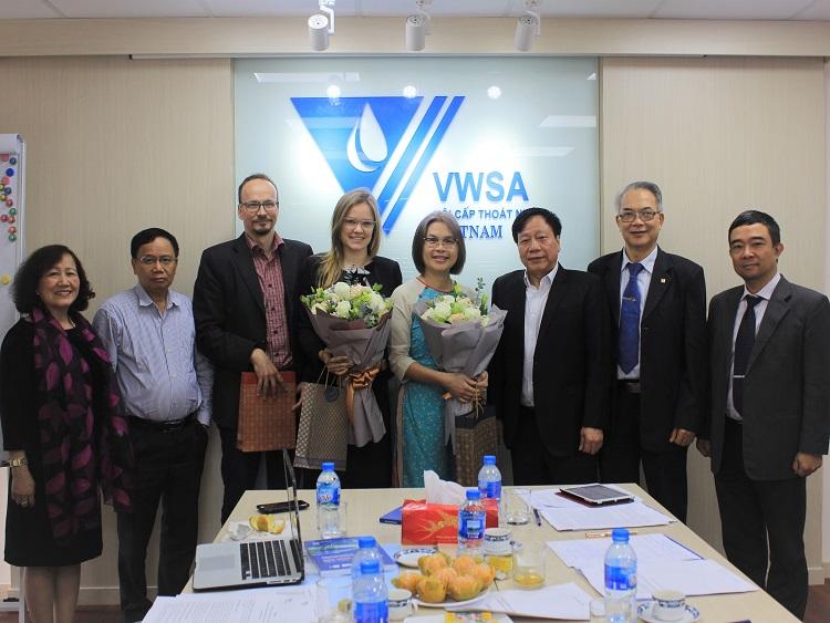 1538/VWSA và FWF họp tổng kết 2 năm triển khai dự án hợp tác