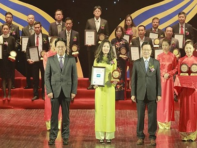 1094/Máy lọc nước Tân Á nhận giải thưởng nhãn hiệu hàng đầu Việt Nam 2017