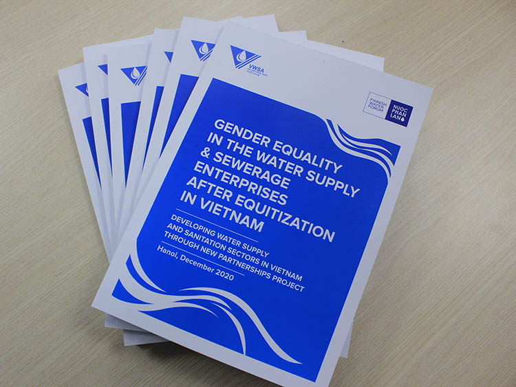 Gender equality in the water supply and sewerage enterprises after equitization in Vietnam