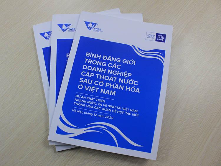 2270/Báo cáo Bình đẳng giới trong các doanh nghiệp Cấp thoát nước sau CPH ở Việt Nam