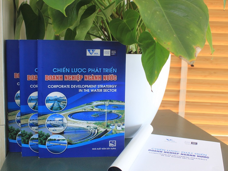 """The """"Corporate Development Strategy in water sector""""  book"""