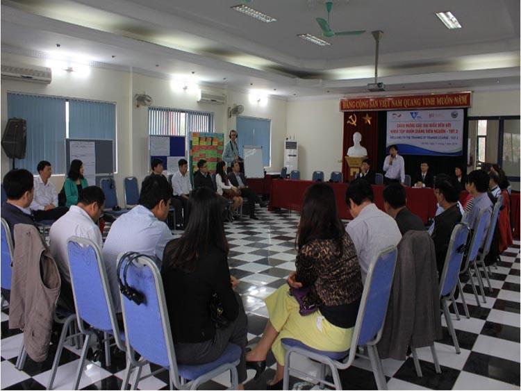 VWSA và GIZ tổ chức khóa đào tạo Giảng viên lần thứ hai (TOT2)