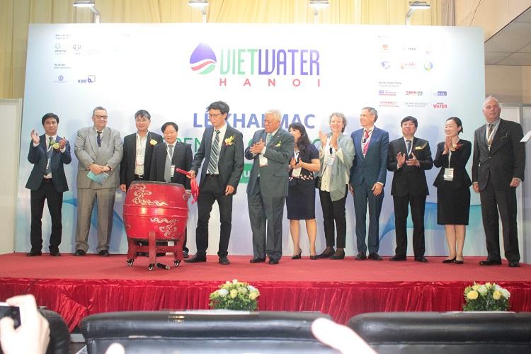 1647/Khai mạc Triển lãm VIETWATER 2019 tại Hà Nội