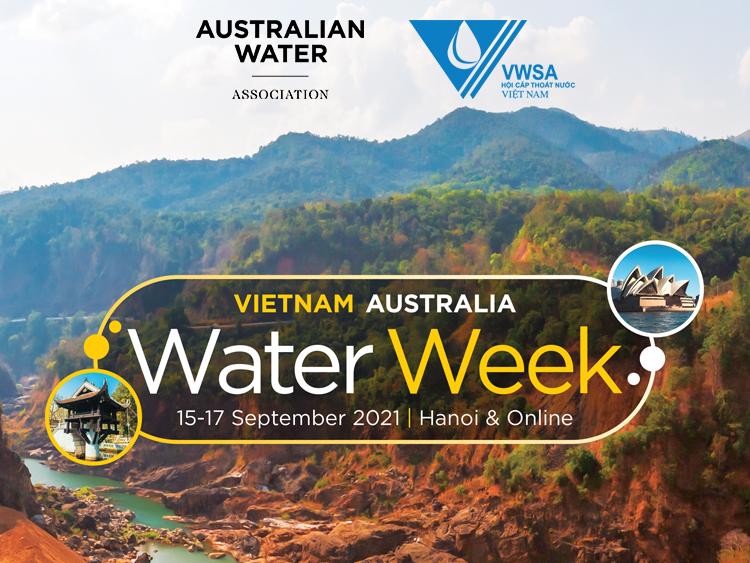 Tentative schedule of the Vietnam - Australia Water Week 2021