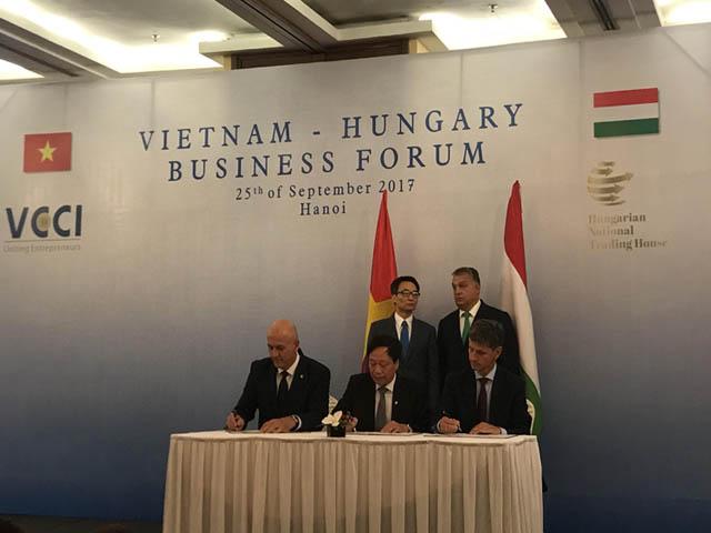 954/Ký hợp tác phát triển lĩnh vực cấp thoát nước giữa Việt Nam - Hungary