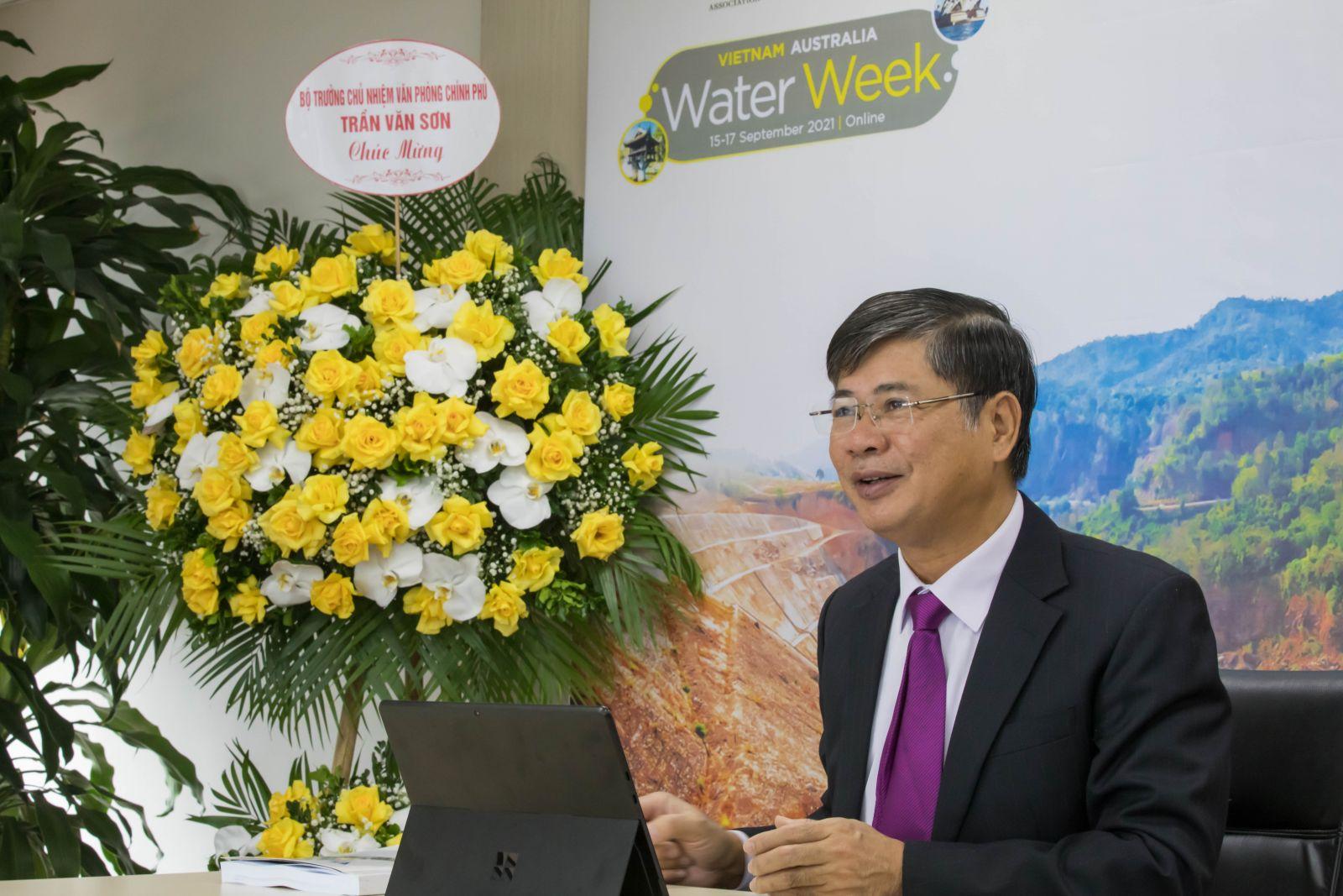 TUẦN LỄ NGÀNH NƯỚC VIỆT NAM - ÚC: An toàn cấp nước - Hướng tới sự phát triển bền vững