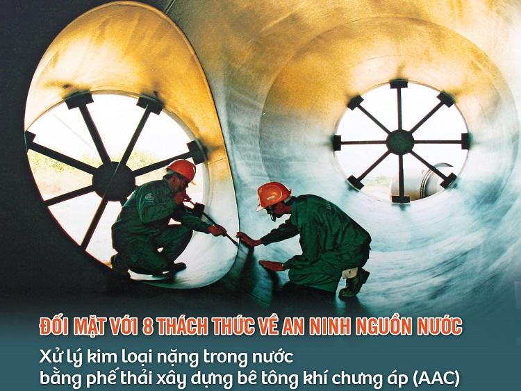 2177/Tạp chí Cấp thoát nước Việt Nam - Số 5 (133/2020)